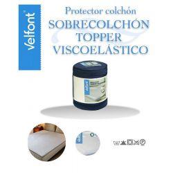 Sobrecolchon Topper Viscoelastico Velfont