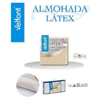 Almohada Latex Velfont