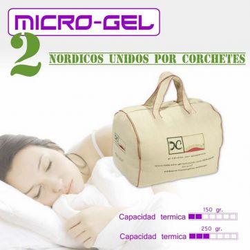 Edredón Nórdico Micro-gel 4 Estaciones Nordconfort