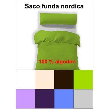 Saco funda nordica 100% algodón