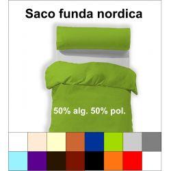 Saco funda nordica 50 alg./50 pol.