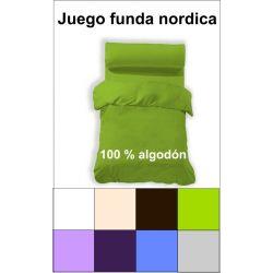Funda nordica 3 piezas 50 alg./50 pol.