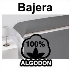 Sabana bajera blanco 100% algodón