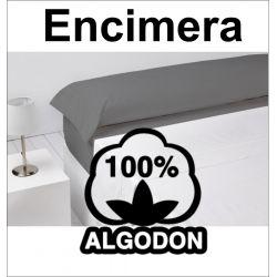 Sabana Encimera blanco 100% algodón