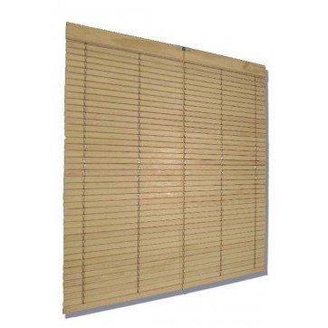 Persiana Alicantina madera castaño