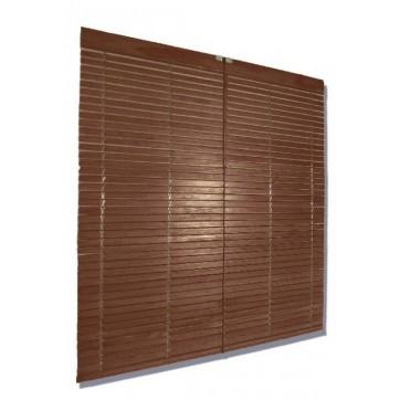 Persiana Alicantina madera nogal