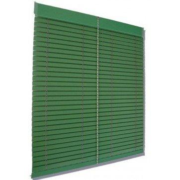 Persiana Alicantina madera verde
