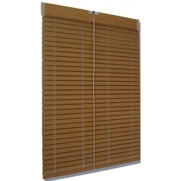 Persiana Alicantina madera marron